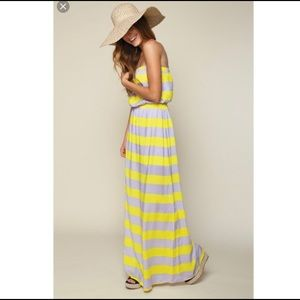 Splendid Striped Maxi Sun Dress